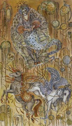 The Chariot - Paulina Tarot