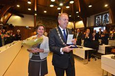 Vertrekkend burgemeester Peter van der Velden benoemd tot ereburger van Breda: http://bit.ly/1vomXMD. © Luuk Koenen