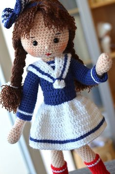 sailor girl | Now she's completely done and ready to go to h… | Flickr