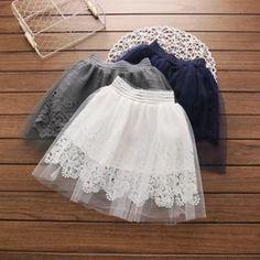 Discount Girls Gray Tulle Skirt | 2017 Girls Gray Tulle Skirt on Sale at DHgate.com