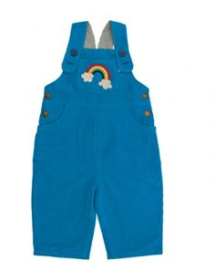 Rainbow Cord Dungarees - Organic Clothes By Frugi