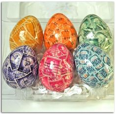 If eggs can be on stamps, I guess stamps can be on eggs: Postage stamp eggs