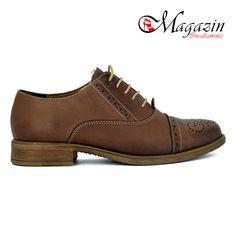 Pantofi dama din piele - Caspian Sea - Model: Mania Bej