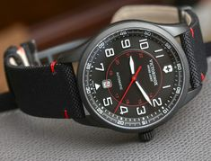 Victorinox Swiss Army Airboss Mechanical Ref. 241720 Watch Review Wrist Time Reviews