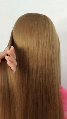 Easy Hairstyles For Thick Hair, Hair Tutorials For Medium Hair, Braids For Long Hair, Braided Hairstyles, Front Hair Styles, Medium Hair Styles, Natural Hair Styles, Hair Style Vedio, Bridal Hair Buns
