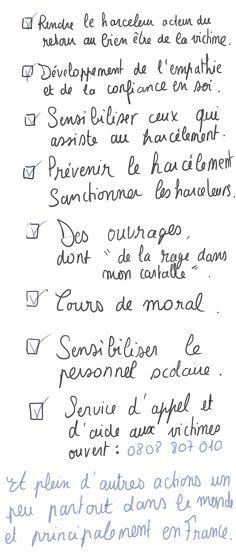 R is for Erwan: ● #RwanSexprime : Le harcèlement scolaire ●