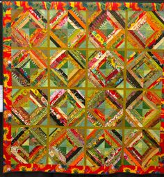 """Buffy--aka Sally--the fearless Rebels leader, was chosen as the featured 2012 quilt maker of the year for Quilters Anonymous.  """"QA"""" is a Seattle area quilt guild with around 500 members."""