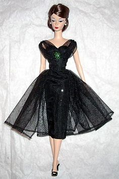 Barbie in a Sheer Overlay- exquisite !
