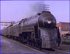 Baltimore and Ohio Cincinnatian President Class Pacific Locomotive.