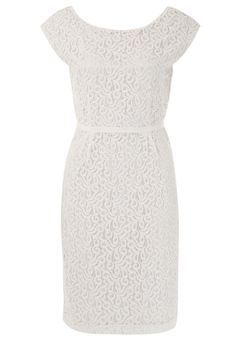 KIOMI - THE LACE SHIFT - Cocktail dress / Party dress - white