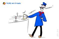 Faire un à-fond : boire son verre d'un seul trait | Photo: Zelda Zonk @ TV5MONDE. http://www.tv5.org/cms/chaine-francophone/lf/Tous-les-dossiers-et-les-publications-LF/Les-expressions-imagees-belges/Expressions-imagees-belges/p-14573-Faire-un-a-fond.htm