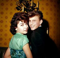 Annette Funicello with Bobby Rydell