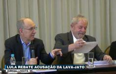 Portal Galdinosaqua: Lula rebate acusação da Lava Jato