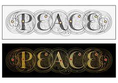 Seb Lester - Peace — Limited edition print
