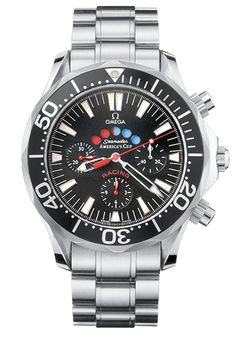 OMEGA Regatta Watches collection: 2003 Seamaster 300m Chronograph Racing America's Cup