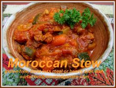 Home Cooking ~ Moroccan Vegetable Stew (meat-less meal or hearty side dish)