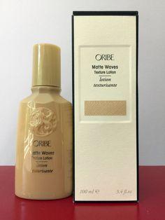 ORIBE Matte Waves Texture Lotion 3.4 fl oz. • RETAIL $42.00 • Brand New In Box #Oribe