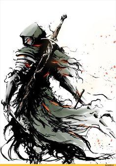 Ashen One,DSIII персонажи,Dark Souls 3,Dark Souls,фэндомы,DS art