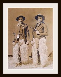 Hope that gun's not loaded, lol!  I LOVE these furry chaps, saw them in the new True Grit and want some sooo bad!!!!