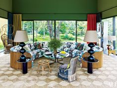 Colorful and Vivacious Interiors by Muriel Brandolini Photos | Architectural Digest