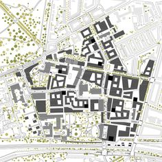 """Masterplan Carlsberg City by Entasis   Valby - Denmark. """"probably the best town in the world"""" – was one of the many enthusiastic reviews after entasis in 2007 won the big international open competition of a new city on the old grounds of Carlsberg – Entasis was number 1 of 221 entries from 35 different countries."""