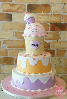 Ice Cream Shoppe Party {Ideas, Supplies, Decor, Cake}