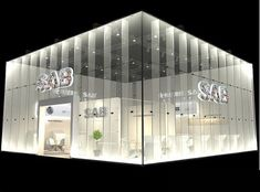 Area: Render scene with and Vray Exhibition Stall, Exhibition Display, Temporary Architecture, Paper Installation, Facade Lighting, Facade Design, 3d Max, Booth Design, Design Model