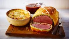 Beef Wellington main course. Enjoyed during regency period perfect for wedding breakfast