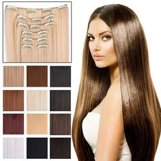 "7-Piece 24"" Full Head Clip in Hair Extensions - $9.75. https://www.tanga.com/deals/7d3fc821e383/7-piece-24-full-head-clip-in-hair-extensions"