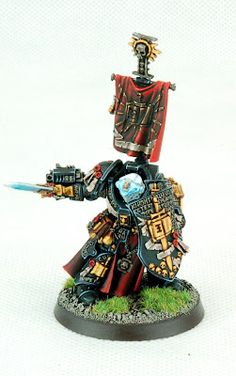 Tale of Painters: Showcase: Grey Knight Paladins 1