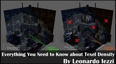 Everthing You Need to Know about Texel Density_Leonardo Iezzi