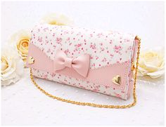 Cute pastel pink clutch [ I do not own ]