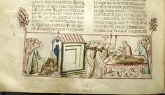Vitae patrum, MS M.626 fol. 96v - Images from Medieval and Renaissance Manuscripts - The Morgan Library & Museum