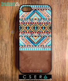 Tribal iPhone Case Geometric iPhone 5 Case by casesbycsera