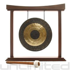 """16"""" Chau Gong on The Eternal Present Gong Stand - FREE SHIPPING"""