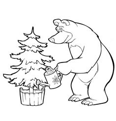 Masha_e_Urso_Bear_boomerang_desenhos_imprimir_colorir_pintar (13)