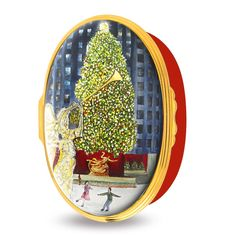 Halcyon Days Christmas in New York Enamel Box | Holidays | Halcyon Days | Collectibles | ScullyandScully.com