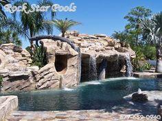 Rock Watefall Swimming Pool- Naples, Fl