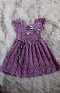 Crochet gowns blessing dress baptism gown knit Dresses Birthday pink dress Girl Cotton nice Baby Girl gown gift for baby gift for Birthday