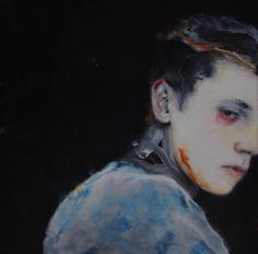 """CONTINENTAL DRIFT'S CHATTER"" ~ Acrylic on linen ~ Antoine Cordet"