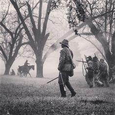 #reenacting #confederate  #blackandwhite #southern #love #nature #smoke #gun @civilwartrust