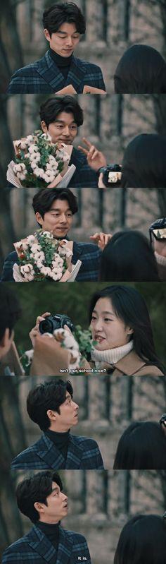 Korean Bun, Korean Drama Romance, Goblin Korean Drama, Goong Yoo, Goblin Kdrama, Finger Heart, Meteor Garden, Grim Reaper, Lonely