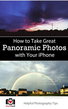 How to Take Great Panoramic Photos with Your iPhone
