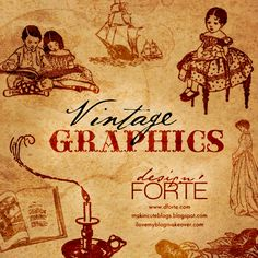 FREEBIE: Vintage Graphics (Photoshop Brushes) – Free for Commercial Use