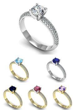 Złoty pierścionek zaręczynowy | Biżuteria Lisiewski | #jewels #jewelery #engagementrings