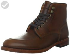 FRYE Men's Walter Lace-Up Boot Whiskey 7 D (M) US - Mens world (*Amazon Partner-Link)