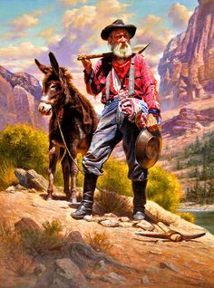 'The Old Prospector' by Alfredo Rodriguez