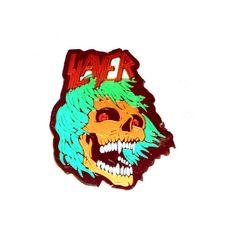 vintage SLAYER pin #Slayer #Pin