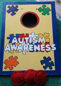 Check out this item in my Etsy shop https://www.etsy.com/listing/236215268/autism-awareness-table-top-cornhole