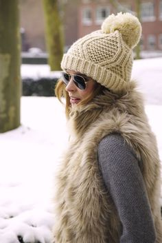 knit winter hat                                                       …